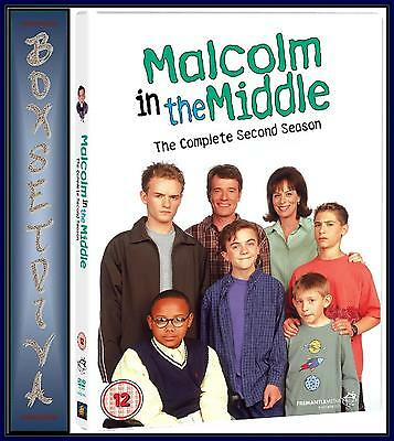 Malcolm In The Middle - Complete Series Season 2  ***Brand New Dvd ***
