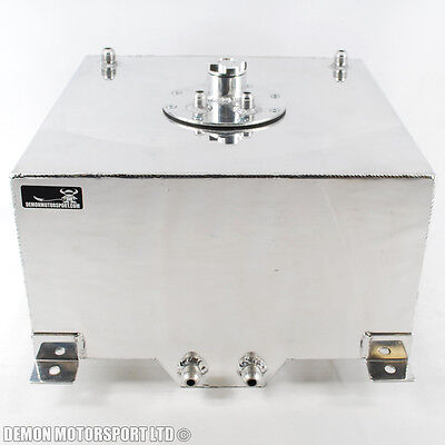 Sumped Alloy Fuel Tank 40 Ltr 8.8 Gal Air Tight Cap For Kit Race Rally Car New
