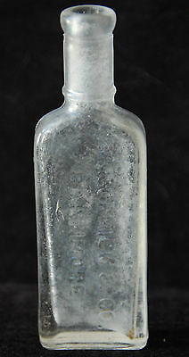 "Vintage McCormick & Co Baltimore Glass Bottle (4 7/8"" tall)"