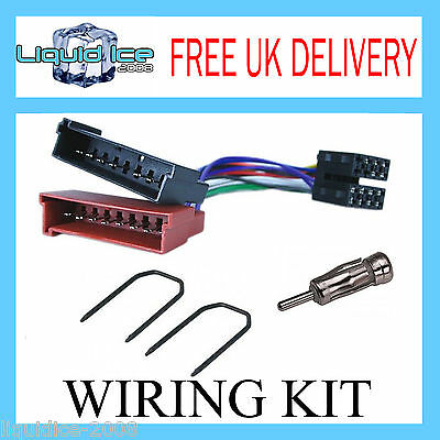 FORD FOCUS MK1 1998 to 2004 STEREO WIRING FITTING ADAPTER KIT LEAD