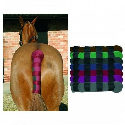 Mark Todd Padded Tail Guard - Velcro Strap - Nylon - Choose Colour