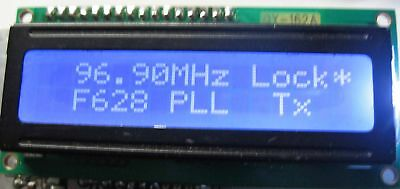 FM PLL TRANSMITTER 1 WATT 87.5 - 108 Mhz NEW