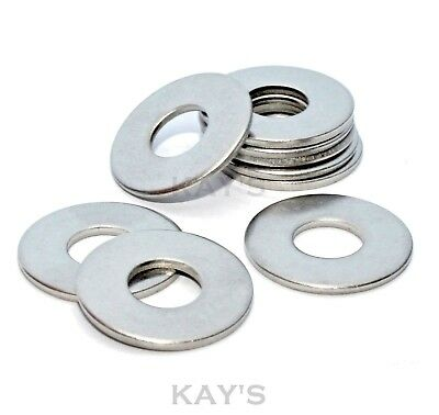 Form C Flat Wide Washers A2 Stainless Steel M4,m5,m6,m8,m10,m12 Wider Larger Rim