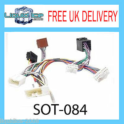 Sot-084 Volvo 850 1993 - 1996 Iso Parrot Harness Adaptor Wiring Loom Lead