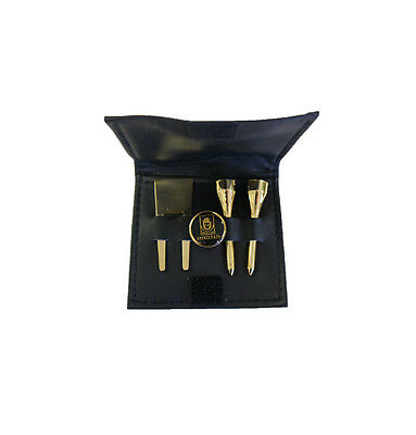 Golf Pocket Bag w/ Tees, Divot Tool & Market - Golf Gifts and Accessories