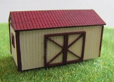 Equipment Shed Laser Cut Kit N Scale # SM-017