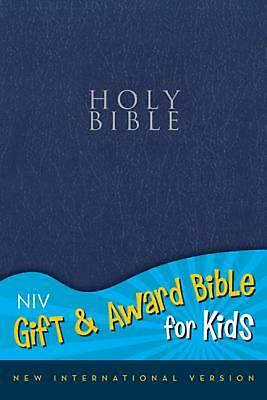 NEW Gift and Award Bible for Kids-NIV by Zondervan Publishing Imitation Leather