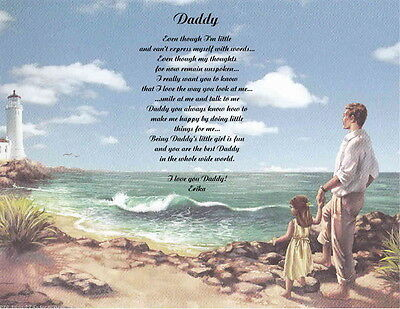addy Personalized Poem Gift For Father's Day-Christmas-Birthday