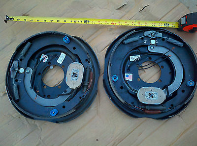 "(2) DEXTER Trailer 12"" x 2"" Electric Brakes Assembly 7000 # Axle Left Right PAIR"