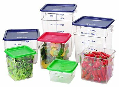 Camwear Polycarbonate 4SFSCW-135 Square Food Storage Container