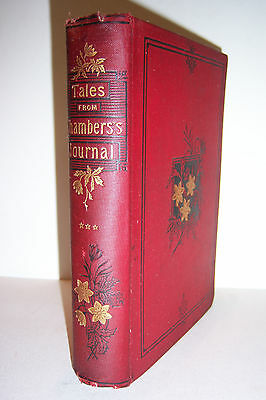 1887 Tales from Chambers's Journal. Further Delay, Arab Wife, Stange Clue, etc.