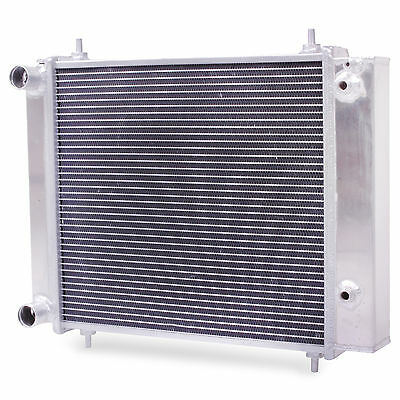 Alloy Twin Core Engine Radiator For Land Rover Discovery Defender 200 300 Tdi