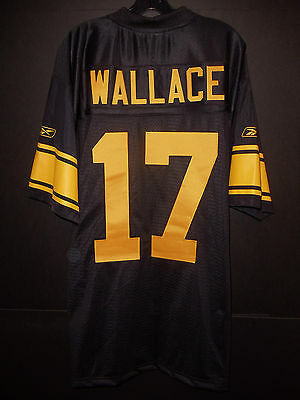 a1c8f32aa Mike Wallace Pittsburgh Steelers Throwback Premier Reebok Jersey Large NWT  SEWN