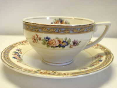 W.H. Grindley Marjorie Cup and Saucer Set