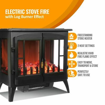 crane white electric fireplace heater