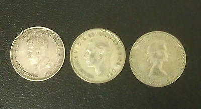 Australian Commemorative Florins 1927, 1951, 1954 GREAT GIFT