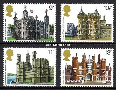 GB 1978 British Architecture SG1054-7 Complete Set Unmounted Mint