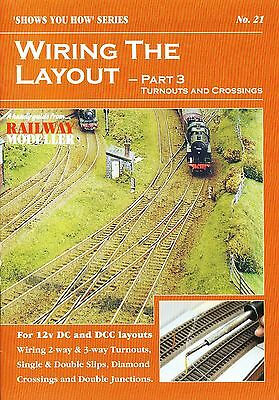 Peco SYH 21 The Railway Modeller Book Wiring The Layout Part 3 New 16 pg Booklet