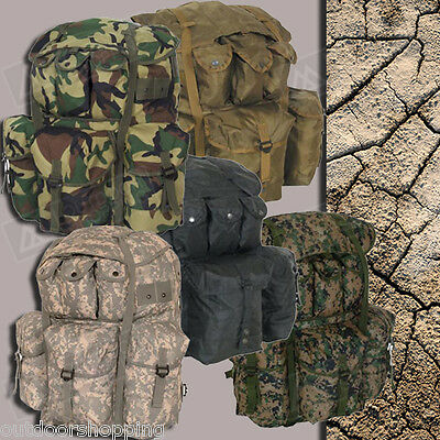 """LARGE ALICE FIELD BACK PACK BOOK BAG - Tactical Polyester, 22"""" x 20"""" x 19"""""""