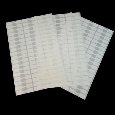 480Pcs X Professional Jewelry Price Tags Dumbell Label Square