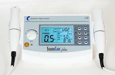 Roscoe Medical DQ9275 SoundCare Plus Ultrasound Therapy Device w/ 2 Sound Hds