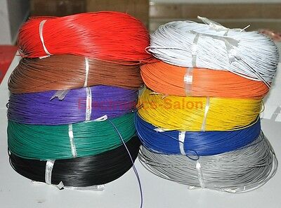 UL-1007 24AWG Hook-up Wire, 10 Colors to Choose, Cable.