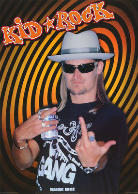 Poster : Music : Kid Rock - Flipping The Bird - Free Ship #pr3204 Lc18 S