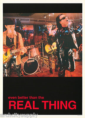 Poster : Music: U - 2 - Even Better Than The Real Thing - Free Ship!     Lc18 L