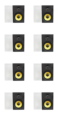 """16 Contractor Business LOT 6.5/"""" Ceiling In-wall Enclosed Speakers NEW"""