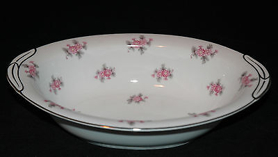 Noritake Rc Fine China Oval Vegetable Bowl Rose Palace Pattern