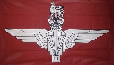 PARACHUTE REGIMENT BRITISH ARMY 5X3 FEET FLAG Polyester fabric Military
