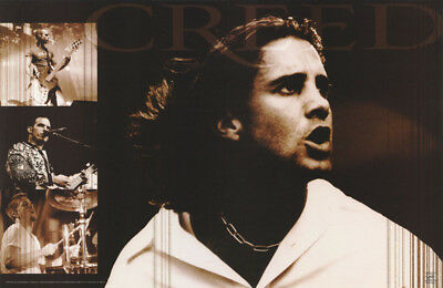 Poster : Music :  Creed  - 1999 Montage -  Free Shipping !    #6535      Rc1 H