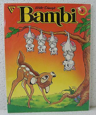 "Walt Disney's ""BAMBI"" Gladstone Comic Album Series #9 1988"