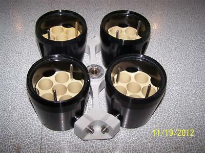 MSE 4x 750mL Centrifuge Rotor 43124-129 BS4402 Max RPM 2500  & 4 Buckets