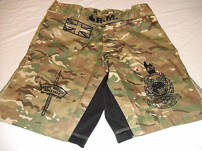 228d11abf1 Royal Marines New Camo Mma Pt S-T-Comp Board Short Fight Shorts Sizes S-