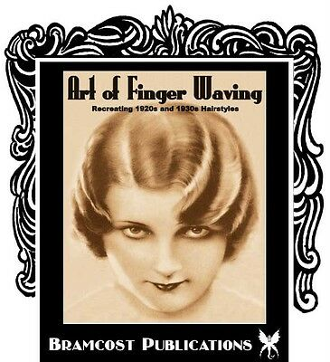 1930s Hairstyle Book by Compan (Vintage Finger Waving)