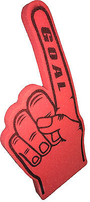Giant Football GOAL  foam hand pointy Finger
