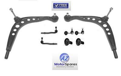 Bmw E30 Wishbone Suspension Track Control Arms Bushes Track Rod Ends Links Kit