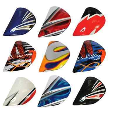 Arai Helmets QUANTUM 2 Shield Side Pods Visor Holders Covers ANY COLOR Parts