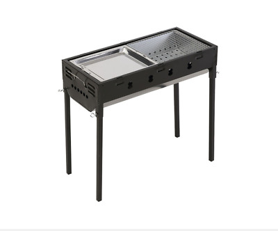 Large Size Portable Outdoor BBQ Barbecue Grill Sets Charcoal picnic Camping