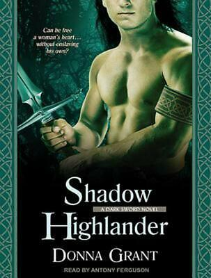 Shadow Highlander by Donna Grant (English) MP3 CD Book Free Shipping!