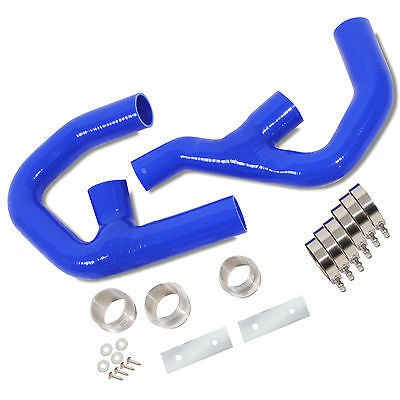 Direnza Silicone Twin Intercooler Hose Pipe Kit For Audi A3 2.0 Tfsi Quattro 06+