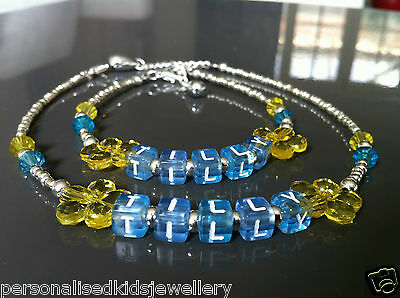 **Girls Necklace and Bracelet Set *** BIRTHDAYS, CHRISTMAS GIFT, FLOWERGIRL