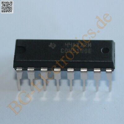 50PCS CD4518BE CD4518 TI DIP-16 CMOS DUAL UP-COUNTERS NEW TI