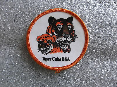 RANK/INSIGNIA/POSITION TIGER CUBS BSA ORANGE/WHITE WOVEN PP