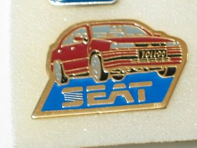 Seat Toledo Pin  Hat tack tie tack Auto Pin Badge