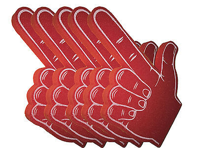 The Shooter Giant Foam Hands Pack of 5