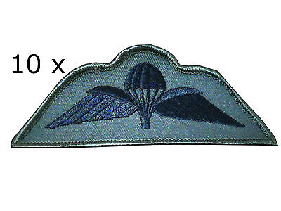 10x Parachute Regiment Airborne Subdued Wings Para Reg Wings Badge Army Military