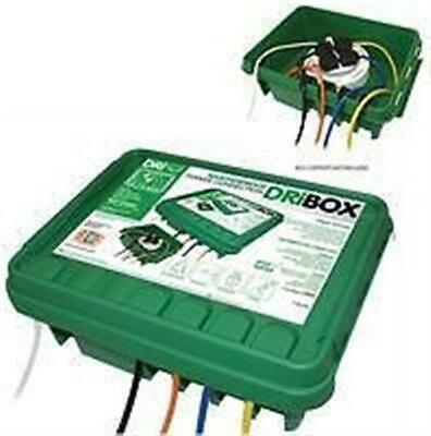 Waterproof outdoors mains connection enclosure electricial box power Dribox