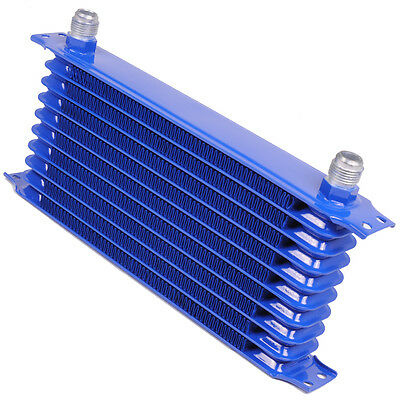 10 ROW AN10 50mm ENGINE OIL COOLER FOR VW GOLF BORA JETTA POLO LUPO CADDY GTI